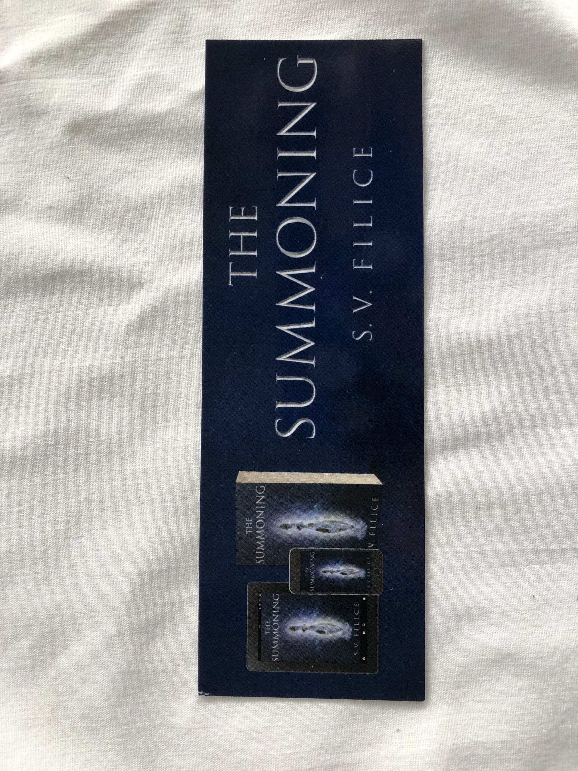 Promotional Bookmark: The Summoning